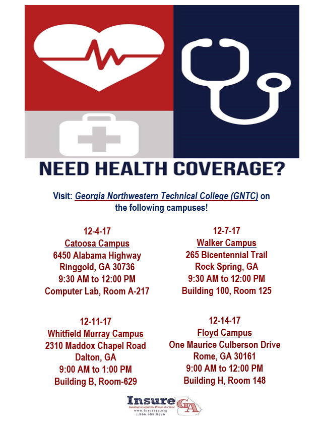 Insure GA. dates for health insurance