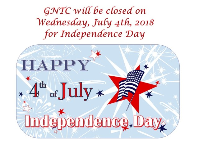 Independence Day BLOG notice